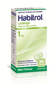 1mg Habitrol Lozenges - 10 packs