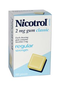Nicotrol 2mg x 3 packs